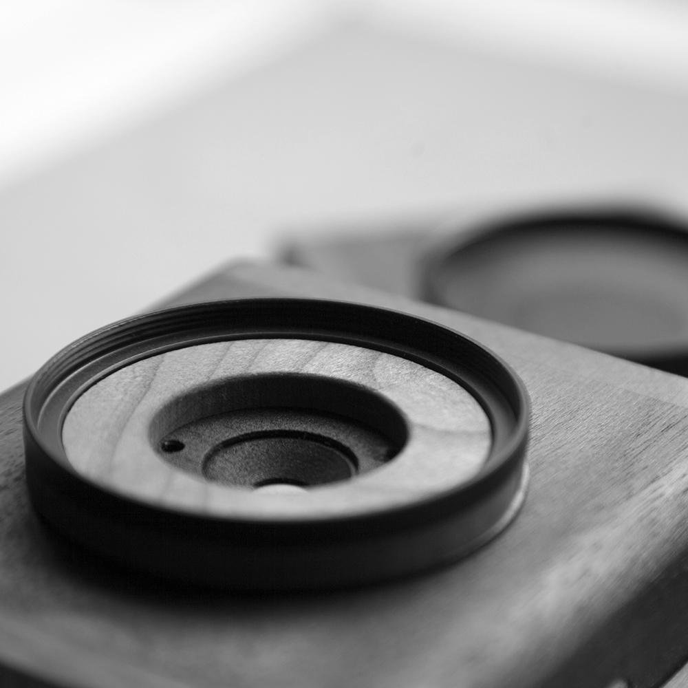 Pinhole shutter nopo + filter